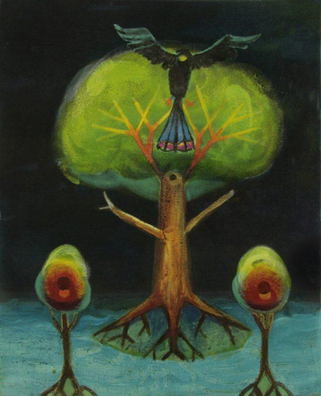 three trees Bild